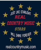 Real Country Music Stars T-Shirt